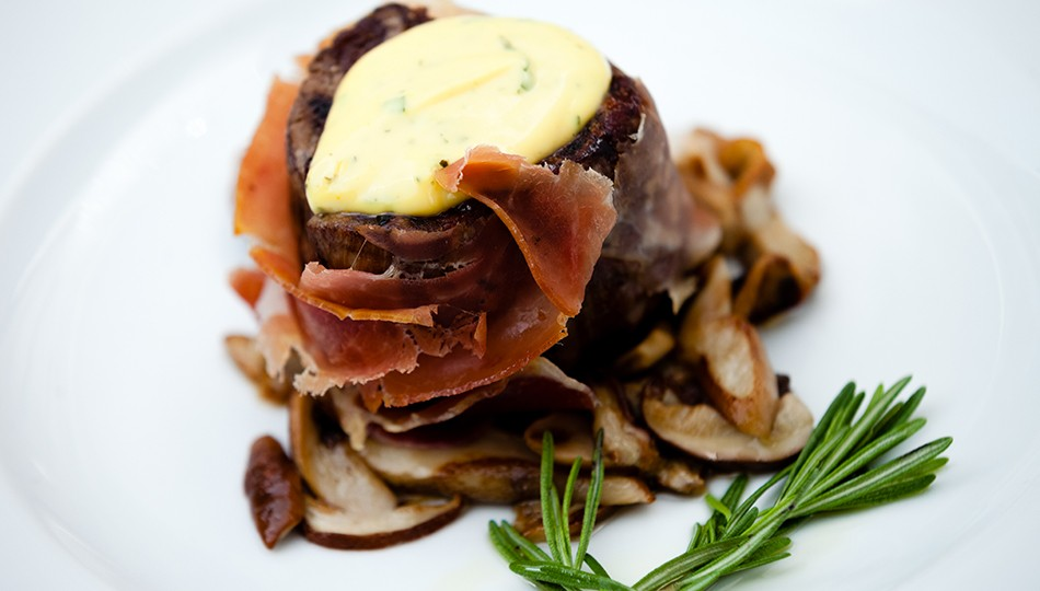 Fillet of beef with porcini