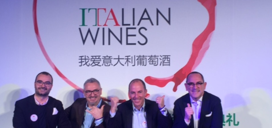 Antonio Rallo with UIV in Beijing to promote Italian wine in China