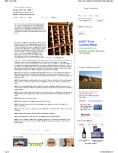 WINE GIFTS: ITALY