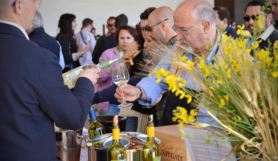 Wine tourism is growing at Donnafugata