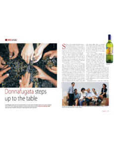 Donnafugata steps up to the table
