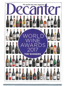 World Wine Awards 2017 - The Winners