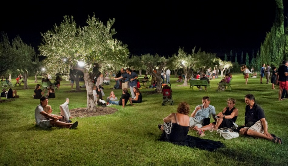 Music and wine on the night of Donnafugata